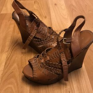 🆕Aldo boho whipstitch Markison wedge sandal